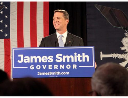SC Equality PAC has endorsed James Smith for Governor.